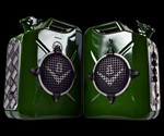 V8 T.A.N.K Pair of Guitar Amps in Green