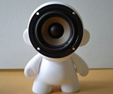 Munny Doll Speaker Closeup