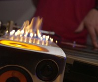 The Sound Torch Flaming Bluetooth Speaker