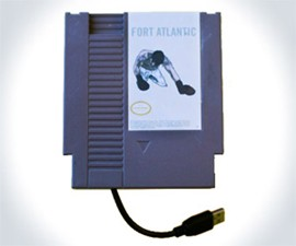 Fort Atlantic NES Cartridge Album