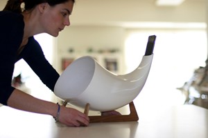 Megaphone iPhone Amplifier
