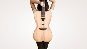 Female Form Guitar