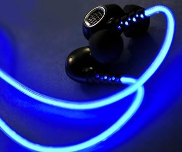 EL Wire Earbuds