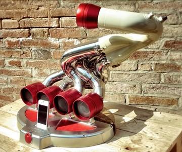 iXoost Supercar Exhaust iPod Dock