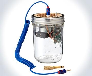 Mason Jar Speaker & Amplifier