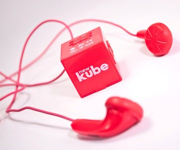 newKube - World's Smallest MP3 Player