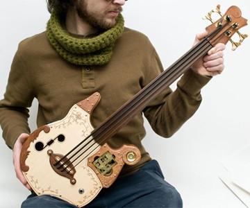 Steampunk Ukulele Bass