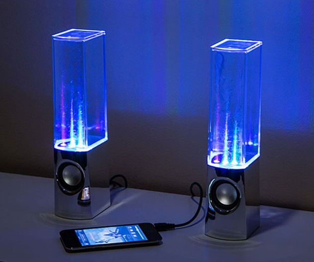 Dancing Water Speakers
