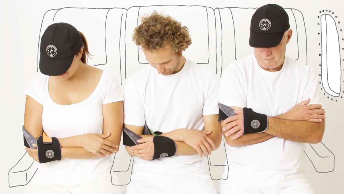 Napwrap Multi-Functional Travel Armrest