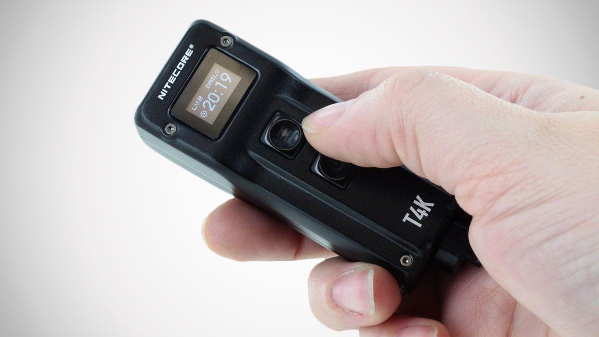 Nitecore T4K 4000 Lumen Keychain Flashlight