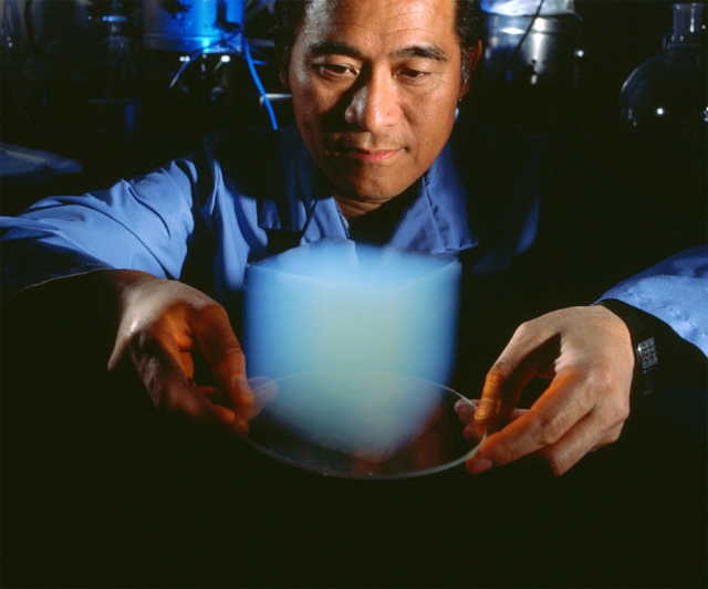Aerogel - World's Lightest Solid
