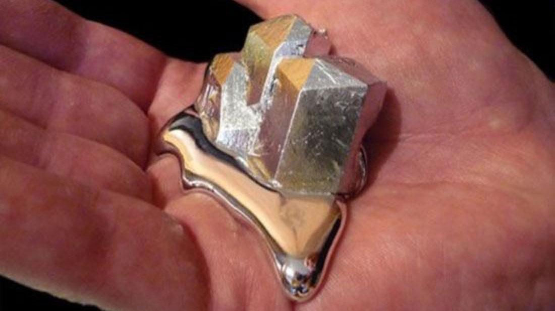 Gallium - Melts-in-Your-Hand Metal