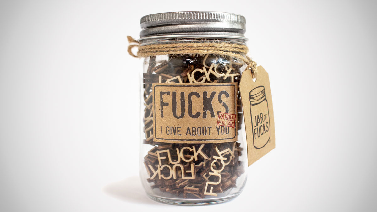 Jar of F*cks Gift Jar