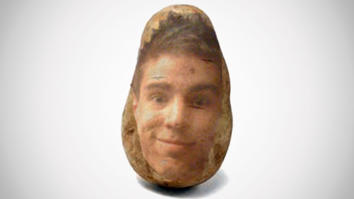 Potato Parcel - Your Face on a Real Potato