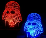 Darth Vader Color-Changing Lamp