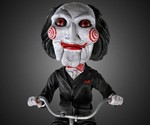 Saw Puppet Bobblehead