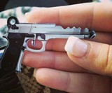 45 Caliber Gun Key Blank