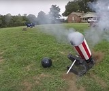 Bowling Ball Cannon