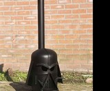 Darth Vader Wood Stove