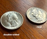 Double-Sided Quarter