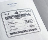 Galactic Republic Passport Visa Stamp