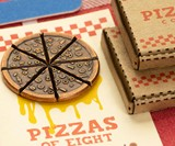 Pizzas of 8 Shareable Pizza Coin