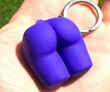 The Buttress Pillow Mini Butt Keychain