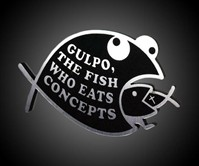 Gulpo - Car-Decal-Eating Decal