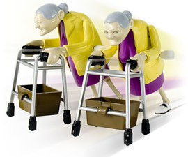 Wind-Up Racing Grannies
