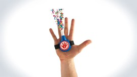 Reloadable Confetti High Fives