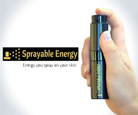 Sprayable Energy - Caffeinated Body Mist