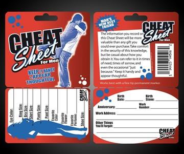 Cheat Sheet for Men