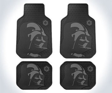 Darth Vader Rubber Floor Mats