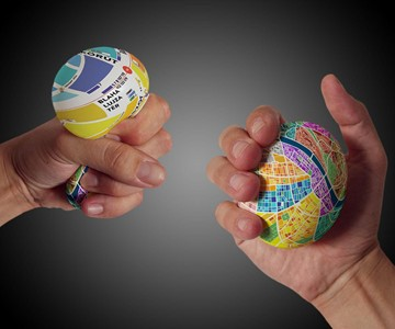 EggMap Stress Ball Navigators
