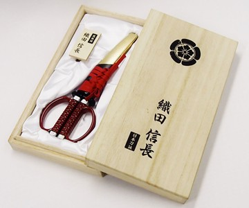 Oda Nobunaga Samurai Scissors
