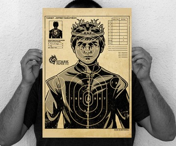 Target: Joffrey Baratheon Poster
