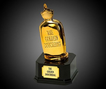 The Golden Douchebag Trophy Dudeiwantthat Com