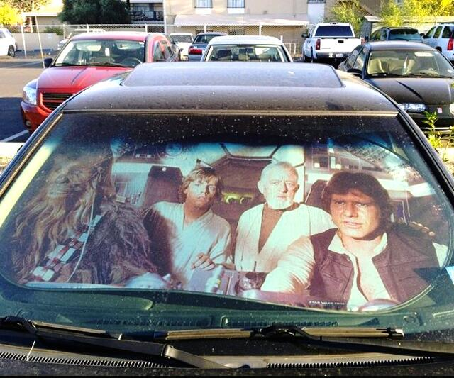 Star Wars Sunshade ... 80e6e799d30