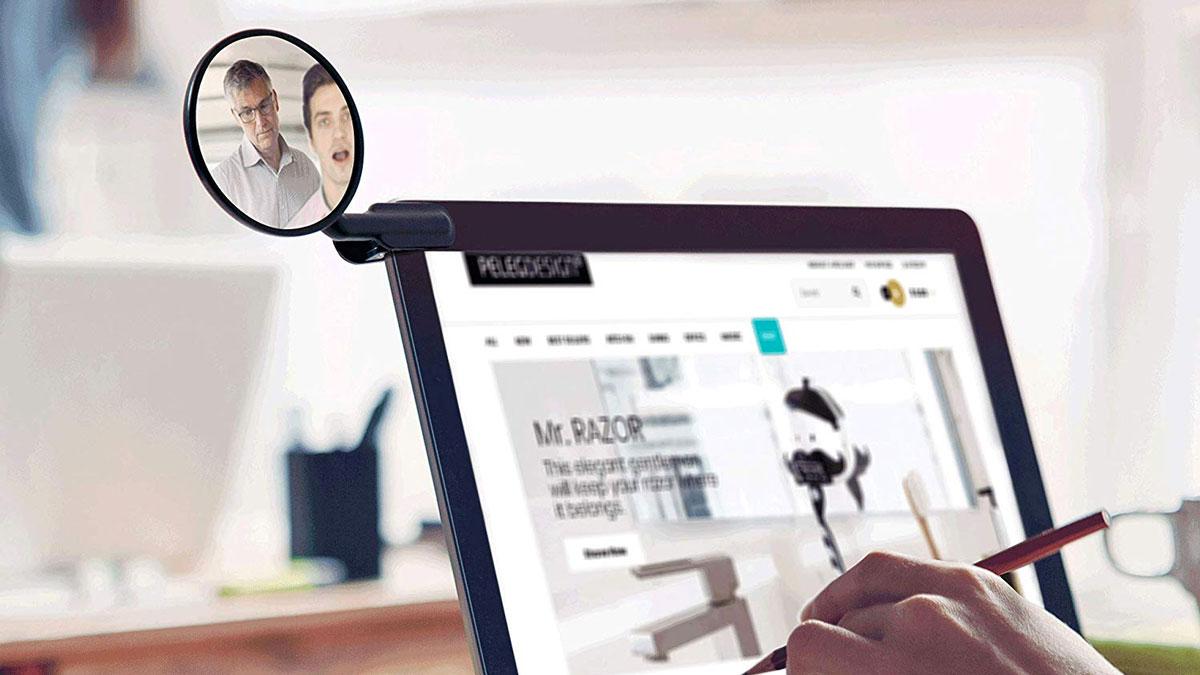 Computer Rear-View Mirror