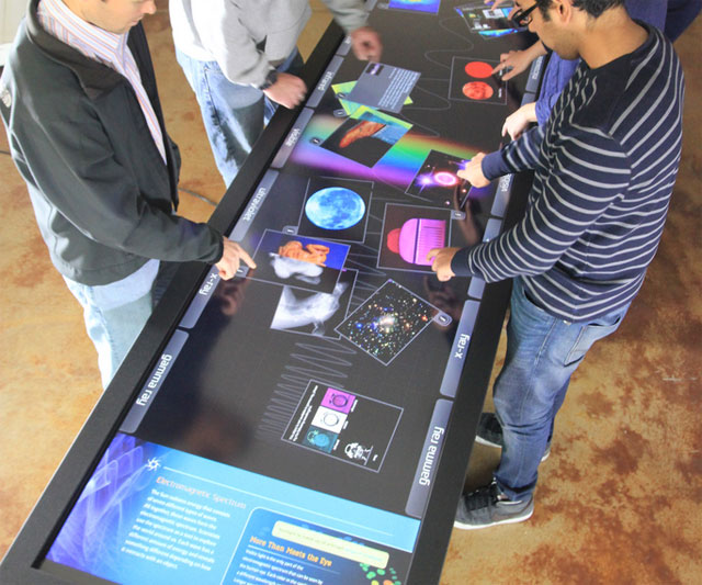 Interactive Touch Tables Dudeiwantthat Com