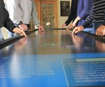 Interactive Touch Table - Pano Closeup