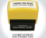 Stamp of Thanks