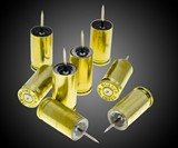9mm Bullet Casing Push Pins