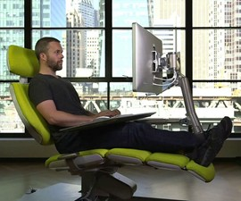 Altwork Sit-Down-Stand-Up-Lie-Down Workstation