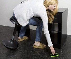 Uncaged Ergonomics Wobble Stool