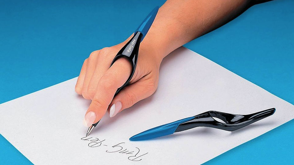Ring Pen - Ergonomic Ball Point Pen