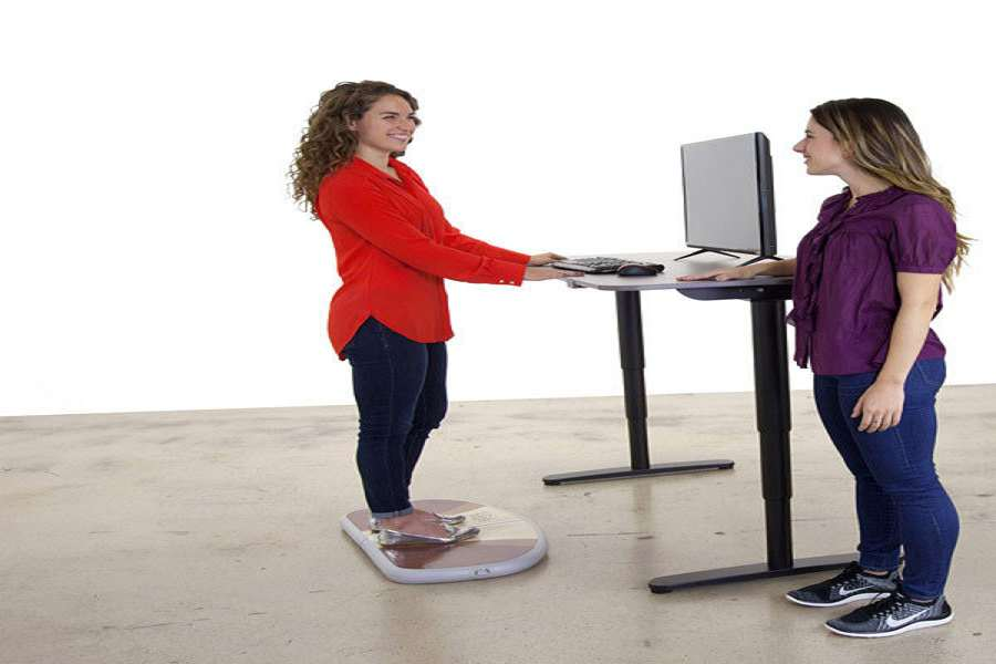 Stand Up Desk Mat Large Size Of Desksoffice Max L Shaped