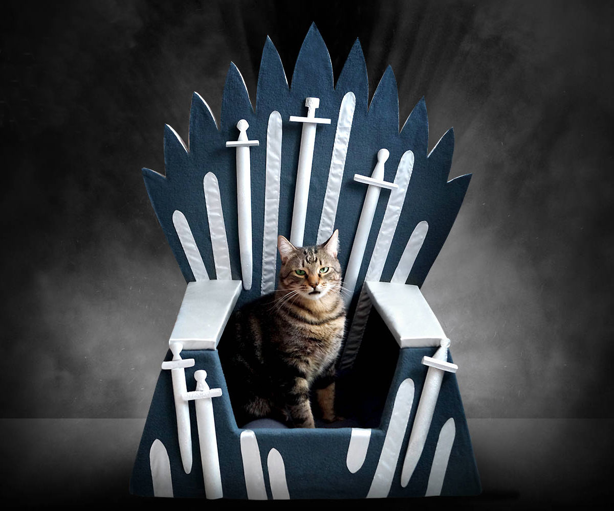 Iron Throne Cat Bed | DudeIWantThat.com