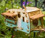 DIY Vintage Camper Birdhouse