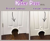 The Kitty Pass Interior Cat Door